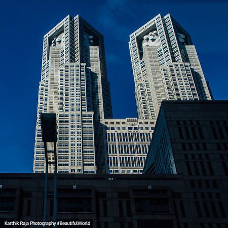 Tokyo Metropolitan Government Building No. 1, Tokyo, Japan