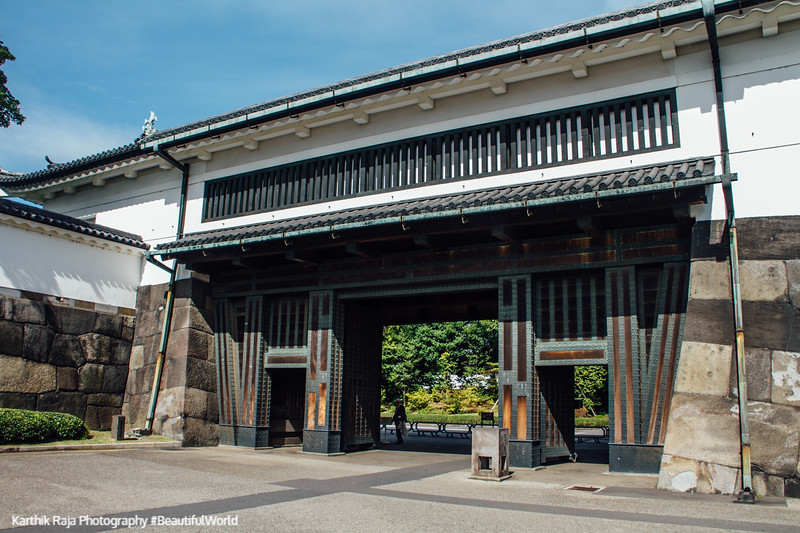 Ōte-mon, Main gate, Edo Castle Gardens, Tokyo Imperial Palace, Tokyo, Japan
