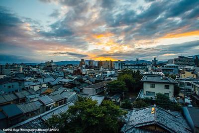 Sunrise, Tokyo, Japan