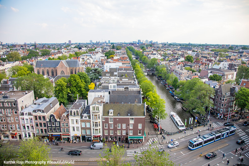 Amsterdam from a higher vantage