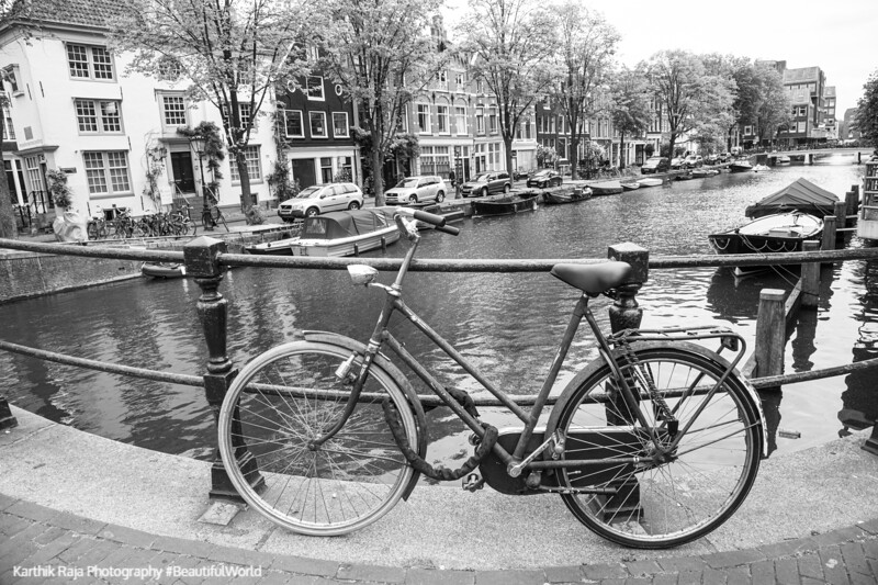 Lijnbaansgracht, Canal, Amsterdam