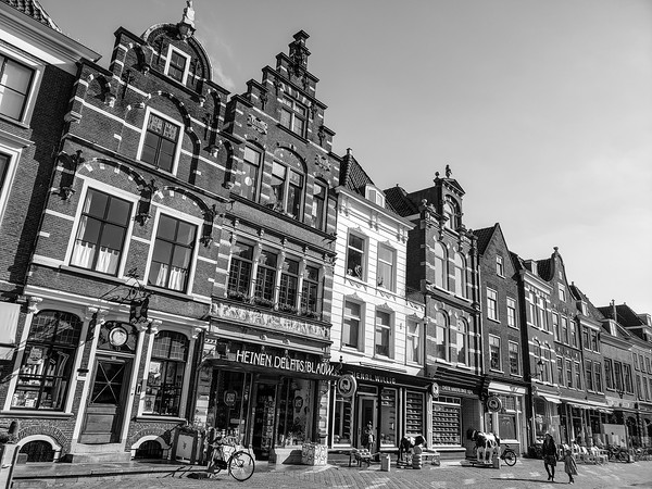 Markt, Market, Old Center, Delft, Netherlands