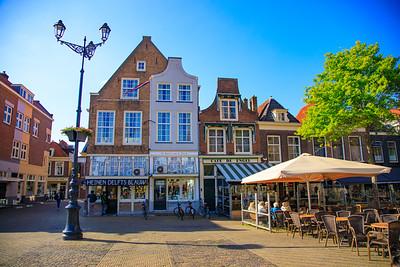 Markt, Market, Old Center, Delft, Netherlands