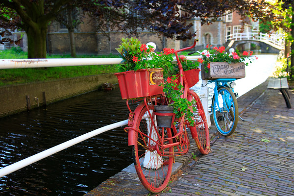 Bicycles, Delft, Netherlands