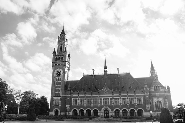 Peace Palace Vredespaleis, Hague, Netherlands