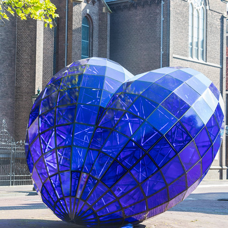 Blue Heart, Delft, Netherlands