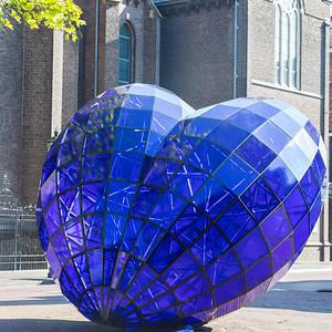 Blue Heart, Delft, Netherlands