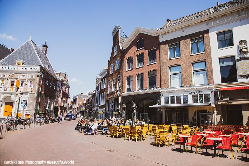 Grote Markt, Old Center, Haarlem, Netherlands