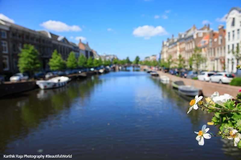 Nieuwe Gracht, Canal, Haarlem, Netherlands