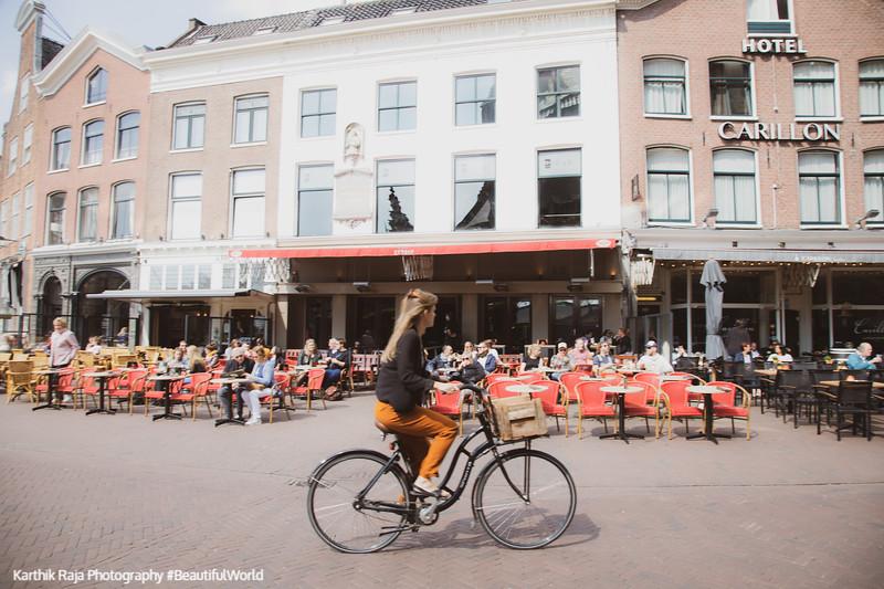 BIcycle, Grote Markt, Haarlem, Netherlands