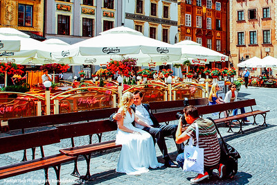 Wedding in Old Town, Warsaw