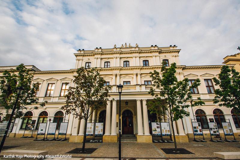 Central Agricultural Library, Krakowskie Przedmieście, Warsaw