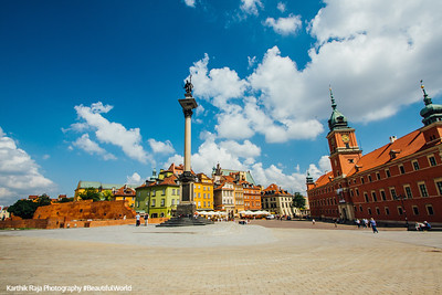 Castle Square, Old Town, Warsaw