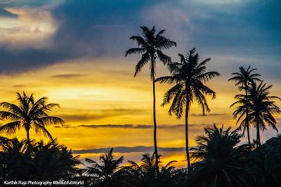 Sunset, Rio Grande, Puerto Rico