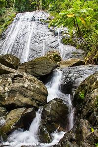 Waterfalls, El Yunque National Rainforest, Puerto Rico