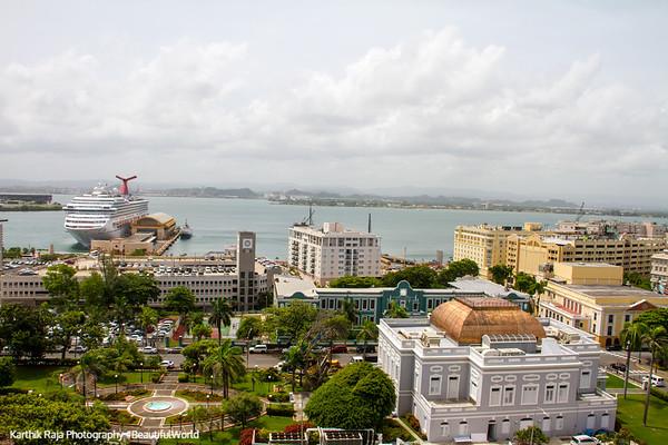 South view, Old San Juan
