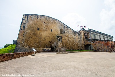 Castillo de San Cristobal, World Heritage Site, Old San Juan