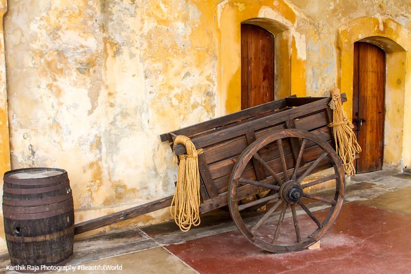 Cart, Castillo de San Cristobal, Old San Juan