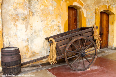 Cart, Castillo de San Cristobal, Old San Juan