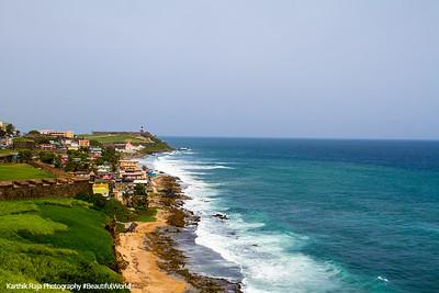 Old San Juan, Atlantic Ocean