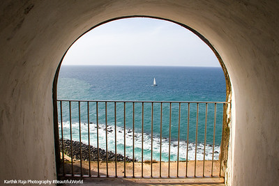 View of Atlantic Ocean, San Felipe El Morro Castle, Viejo San Juan