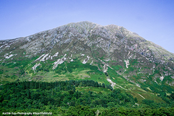 Ben Nevis - tallest mountain in UK (1344m), Scotland