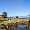 Eilean Donan Castle in Dornie with Loch Duich, Scotland