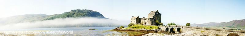 Eileen Donan Castle, Panorama, Scotland