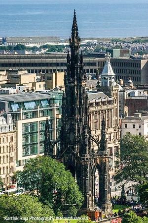 Walter Scott Memorial, Edinburgh, Scotland