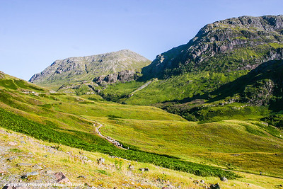 Pass of Glencoe - site of the Massacre of Glencoe, Scotland