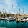 Boats, Barcelona port, Spain