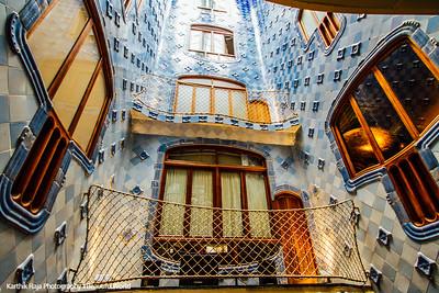 Casa Batllo, Gaudi, Barcelona, Spain