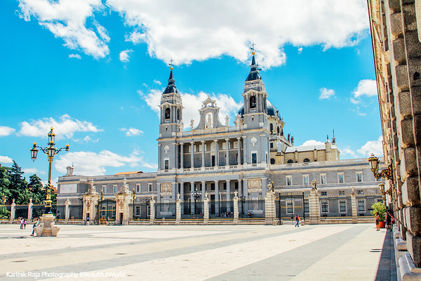 Cathedral of the Almudena, Madrid, Spain
