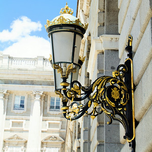 Lamp, Madrid, Spain