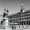 Phillip III statue, Plaza Mayor, Madrid, Spain