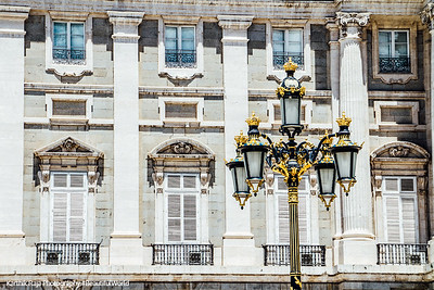 Lamp, Royal Palace, Madrid, Spain