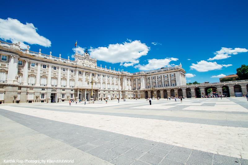Plaza de la Armeria, Madrid, Spain