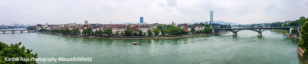 Rhine, Basel, Switzerland