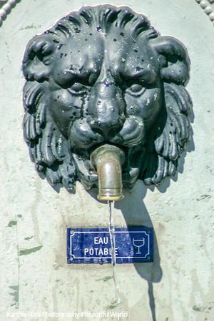 Water fountain, Geneva, Switzerland