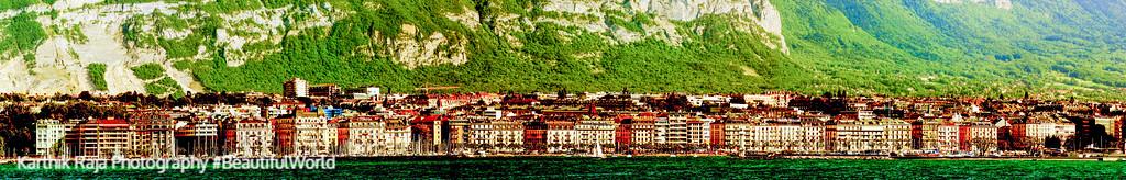 Geneva panorama, Switzerland