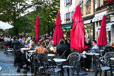 Cafe, Geneva, Switzerland