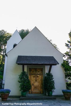 Audrey Hepburn got married here in 1954, church, Lucerne, Switzerland