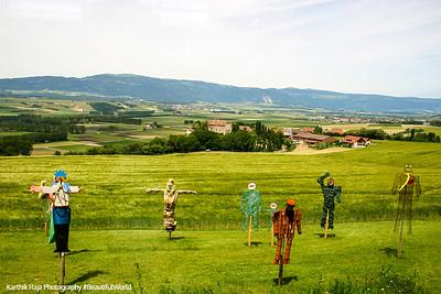 The Swiss plains, Lucerne, Switzerland