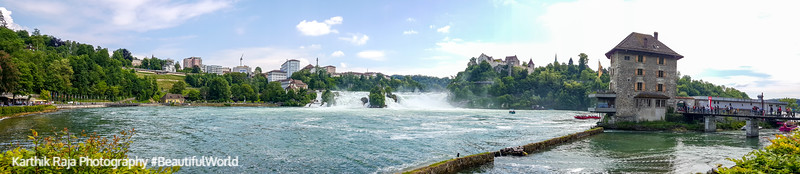 Panorama, Rhein, Rhine falls, Switzerland