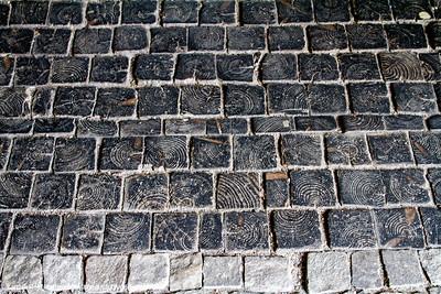 Tile patterns, Abbey of Saint Gall, Switzerland