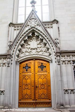 Door, Cathedral, St. Gallen, Abbey of Saint Gall, Switzerland