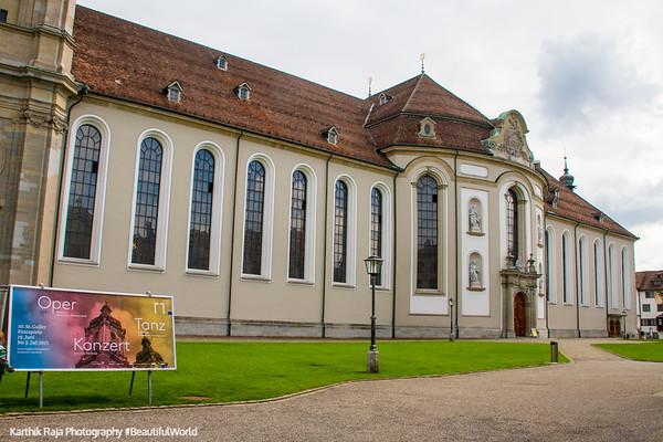 Cathedral, St. Gallen, Abbey of Saint Gall, Switzerland