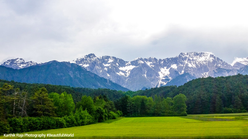 Landscape, Swiss Alps