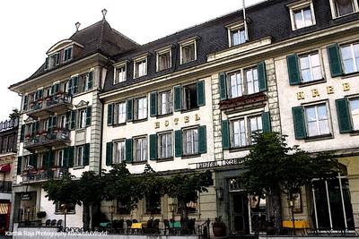 Hotel, Interlaken, Switzerland