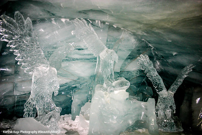 Ice palace - Vultures, Jungfraujoch, Switzerland